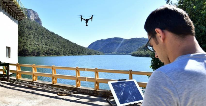 BARAJLAR DRONE İLE KORUMA ALTINDA