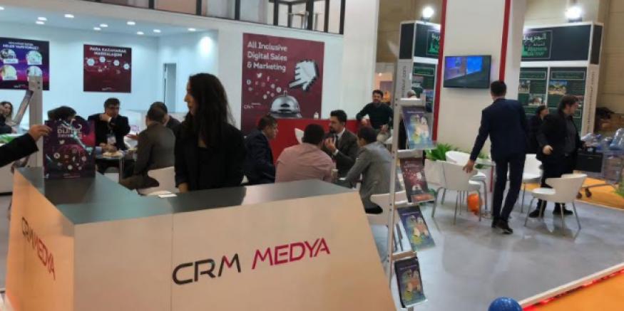 CRM Medya, EMITT Fuarı'na Katıldı